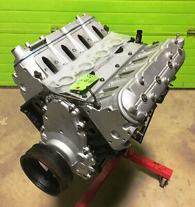 REBUILT 6.0 LS Long Block Chevy Gen 3 Engine VCM Cam 799 Heads Flat Top Pistons