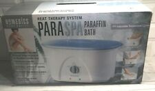 Homedics Paraspa Heat Therapy System PAR-200 Adjustable Temp Paraffin Wax NEW
