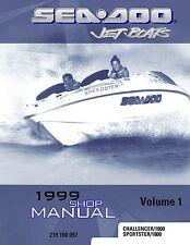 Sea-Doo Service Shop Manual 1999 Challenger & Challenger 1800