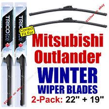 WINTER Wiper Blades 2-Pack Premium fit 2003-2006 Mitsubishi Outlander 35220/190