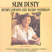 "SLIM DUSTY Henry Lawson And ""Banjo"" Paterson 2CD BRAND NEW"