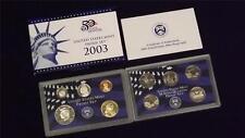 2003 S US Mint Proof 10 Coin Set