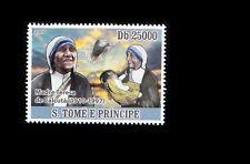 Sao Tome E Principe MNH, Mother Teresa, Nobel Peace -V3