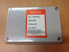 Waterproof Junction Box 120 x 80 x 50 IP56 PVC Adaptable Box
