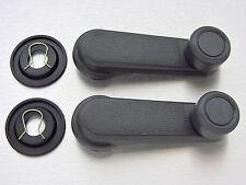 86-97-05 N/S Hardbody D21 Navara Frontier D22 Pair window crank handle grey
