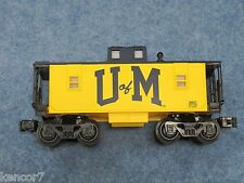 2008 Lionel 6-36637 University Of Michigan U of M Commemorative Caboose L2499