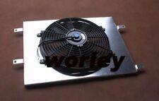 Aluminum radiator shroud + 12V Thermo Fan for HOLDEN Commodore VN VG VP VR VS V6