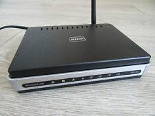 D-LINK DIR-301 54 Mbps ADSL Wireless Router - Black