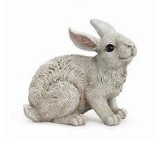 Sitting Bunny Rabbit Animal Garden Statue Lawn Decor