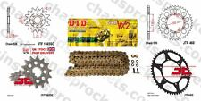 DID- Gold X Ring Chain Kit 13t 50t 520 114 fits Kawasaki KLX450 R 08-12