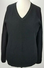 Lord & Taylor Cashmere women long sleeve v neck cashmere sweater size PM