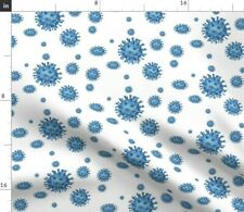 New listing Bacterias Bacteria Doctor Nurse Health Scrubs Spoonflower Fabric by the Yard