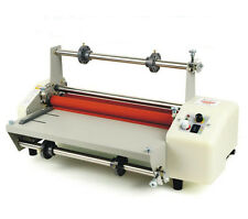 """13"""" (335mm) A3 8350T Four Rollers Hot and cold roll laminating machine 110V Y"""