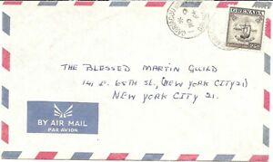 Grenada  1964 Airmail Cover to New York as pic with SG181
