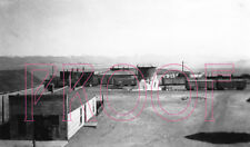Colorado & Southern (C&S) Como Roundhouse in 1927 - 8x10 Photo