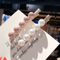 Hair Clip Barrettes Women Pearl Gift Imitation Pearl Hair Pins Hair Accessories