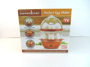 Copper Chef Perfect Egg Maker Electric Cooker Auto Up To 14 Eggs New Sealed