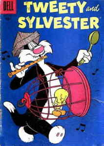 Tweety and Sylvester (1st series) #18 GD; Dell | low grade comic - we combine sh