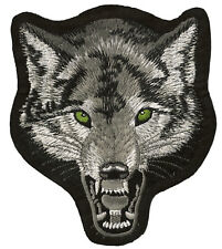 Patche Loup Wolf écusson patch badge brodé thermocollant