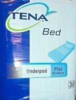 Tena Bed Plus 60 x 60 cm - 120 alèses ( 4 pack de 30 PCS )