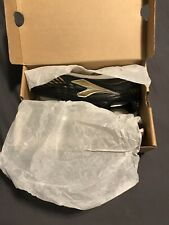 Diadora Men's Capitano ID Indoor Soccer Shoes Black & Gold Worn One Game! Size 7