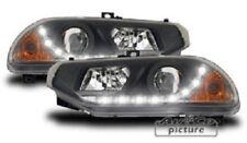 Fari anteriori con ottica luci diurne per Alfa Romeo 156 ('97-'03) coppia fanali