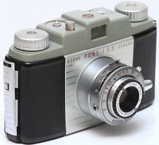 Vintage Kodak Pony 135 35mm Film Camera Made in USA 1950s Parts or Repair