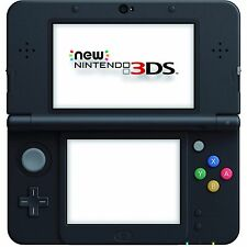 New Nintendo 3DS Black Friday Edition With Games and Charger