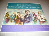 TENNESSEE ERNIE FORD SING A SPIRITUAL WITH ME LP NM Capitol T-1680 1960