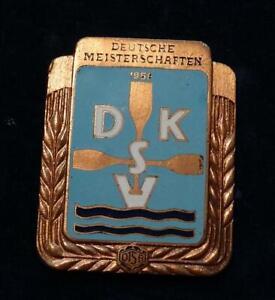 Deutscher Meister Kanusport 1958, in Verleihungsetui