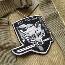 Usa Specia Forces Groups Army Patches U.S. Fox hound Morale Badge Patch