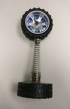 "JDM TIRE WHEEL ALARM CLOCK TIME NIB 9"" TALL NEW RACING GT3 HONDA NISSAN ACURA"