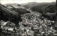 Bad Lauterberg im Harz Niedersachsen s/w AK ~1950/60 Gesamtansicht ungelaufen