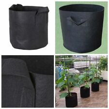 4X Fabric Grow Pots Breathable Plants Bags Pouch Root Container Garden Supply