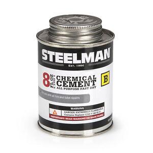 Steelman Chemical Vulcanizing Cement 8oz. Tire Repair Sealant G10105