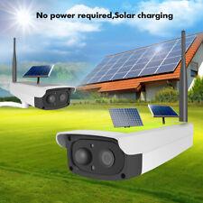 1080P Solar Outdoor Wireless IP Camera WiFi CCTV Security Night Vision Cam Set