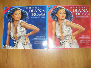 Diana Ross Portrait Vol 1 & 2 All Her Greatest Hits Telstar Motown VG+/EX