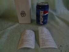 Pepsi Cola Dose Transistor Radio Dosenform - OVP #9#
