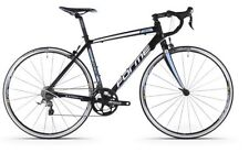 Bicicletas negro de aluminio