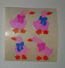 🦁💜Sandylion 1 Abriss Gänse Glanz Pearly Scrapbooking Sticker 90er💜🦁