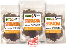 Cricket Sample Packs | Edible Insects | Sriracha