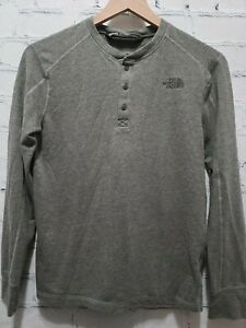 The North Face Boy's Under Shirt Large L LG 14/16 Gray Long Sleeve