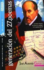 Generacion del 27. Poemas (Spanish Edition) Various Paperback