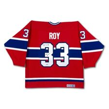 Patrick Roy Hand Signed Authentic Jersey Montreal Canadiens HOF 2006 CCM UDA