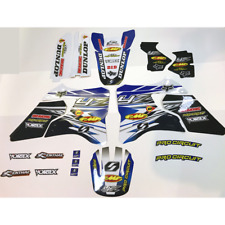 MOTOCROSS TEAM GRAPHICS YAMAHA YZ125 YZ250 1996 1997 1998 1999 2000 2001 DECALS