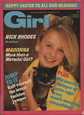 Girl  Magazine 29 March 1986      Madonna      Nick Rhodes