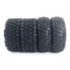 "Four factory New 25x8-12 25x10-12 TIRE SET ATV TIRES 6 PLY 25"" 25x8x12 25x10x12"