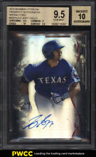 2014 Bowman Sterling Refractor Joey Gallo ROOKIE RC AUTO /150 BGS 9.5 GEM (PWCC)