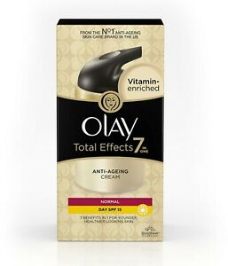 1 PACK OLAY TOTAL EFFECTS 7 IN 1 ANTI AGEING DAY CREAM SPF-15 (20 GRAM EACH PACK