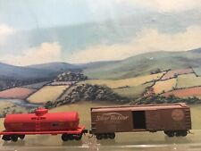 Micro trains line N gauge 2 wagons. Boxed.